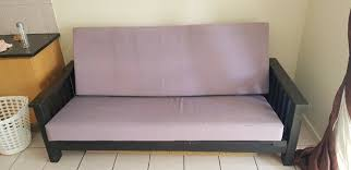 solid wood sleeper couch blouberg