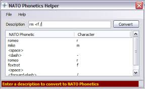 There 26 code words in the nato phonetic alphabet. Nato Phonetics Codeproject