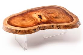 Floating Coffee Table Rotsen Furniture Floating Tamburil Slab Coffee Table
