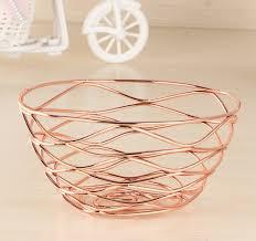 iron fruit basket holder storage snack