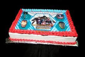 Avengers Birthday Cake For Kids Birthday Online Delivery In Noida