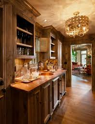milwaukee hammered copper countertops home bar traditional with wood cabinets contemporary ice tools and buckets
