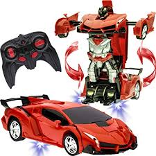 Transformer Car to Robot Toy for Kids Remote ... - Amazon.com