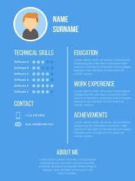 Unique Curriculum Vitae Graphic Designer Vectors Download Free