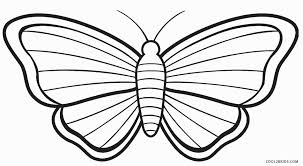printable butterfly coloring pages. Fine Coloring Printable Butterfly Coloring Page To Pages E