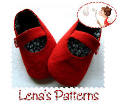 Baby Booties Sewing Pattern Impressive Red Baby Mary Jane Shoes Sewing Pattern And Tutorial On Luulla