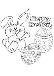 Happy Easter Coloring Pages Holiday Coloring Pages Coloring