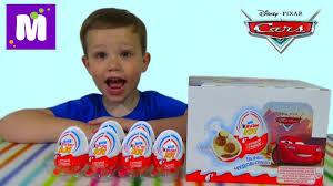 <b>Тачки Дисней</b> Киндер Джой игрушки распаковка - YouTube