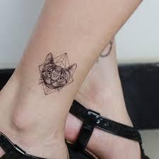 водонепроницаемый тонкие изящные татуировки наклейки 6шт