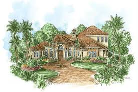 175 1062 4 bedroom 4392 sq ft coastal house plan 175 1062 front