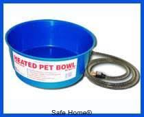 water bowl, heated water, dog pet dish, Farm Innovators Economical Round Heated Pet Water Bowl (60 W