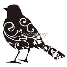 鳥シルエット黒 イラスト素材 694275 フォトライブラリー Photolibrary
