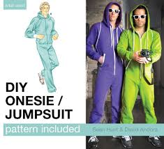 Adult Onesie Pattern Delectable Adult Onesie Jumpsuit Pattern 48 Steps With Pictures