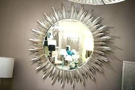 kohls vanity mirror wall mirrors wall mirrors circle mirror wall decor silver sunburst mirror wall decor kohls vanity mirror