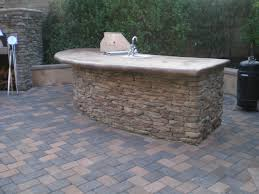 outdoor fireplace pizza oven bbq island and paver patiotraditional patio orange county