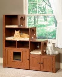 litter box furniture cat enclosed covered. bookcase climber litter box cabinet cat furniture ebay enclosed covered