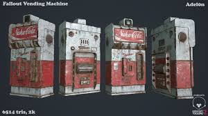 Nuka Cola Vending Machine Unique NukaCola Vending Machine By Adel48n On DeviantArt