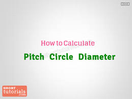 How To Calculate Pcd Pitch Circle Diameter
