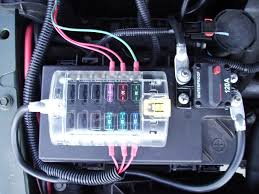 aux fuse box auxiliary fuse box with relay at To Install Auxiliary Fuse Box Diagram