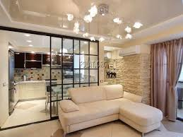 fascinating kitchen design with sliding glass door and thermal curtains for luxury kitchen decor