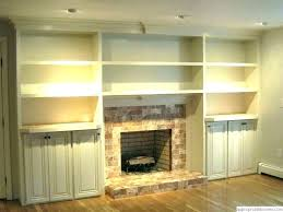 built in shelves around fireplace fireplaces with built in bookcase built in bookcase fireplace built in