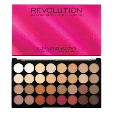 makeup revolution ultra 32 eyeshadow palette flawless 3 resurrection klicke hier um ein größeres bild
