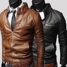 luxury brand motorcycle leather jackets men s leather coats male slim fit business jackets casual coats mens autumn winter leather outerwear