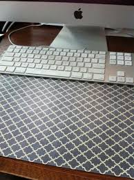 office desk cover. exellent office diy desk pad my version i used scrapbooking paper and quilteru0027s plastic  template template intended office desk cover i