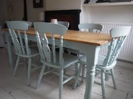 Table And Chairs Laura Ashley Duck Egg Blue Top Needs White