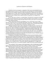 essay on legalizing marijuana argumentative research essay  legalization of marijuana in the final