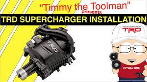 Toyota 5VZ-FE 3.4L V6 TRD Supercharger Installation - YouTube