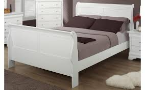full size bedroom sets white. Bianco White Queen Size Sleigh Bedroom Set Full Sets