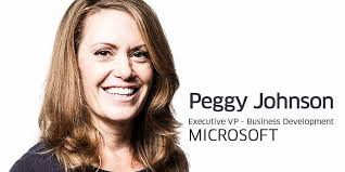 Peggy Johnson to head global business development at Microsoft