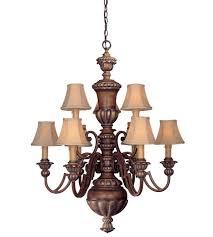 minka lavery belcaro 9 light chandelier in belcaro walnut 947 126 photo