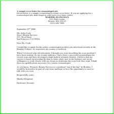 Example Good Cover Letter Images Letter Samples Format Salon