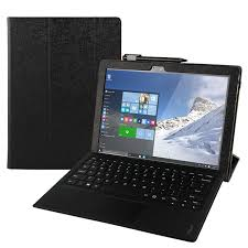 case for lenovo ideapad miix 710 protective smart cover faux leather tablet for miix4 pro 12