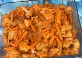 Ada sisa dada ayam di kulkas. Cara Menyiapkan Sweet N Sour Chicken Popcorn Ayam Asam Manis Lezat