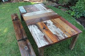 rustic wooden outdoor furniture. Contemporary Wooden Exquisite Wood Outdoor Furniture 6 Reclaimed Madebyme23 With Regard To Wooden  Tables Decor 19 For Rustic B