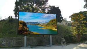 w88优德娱乐场 dongguan forest park p8 outdoor full color led display case