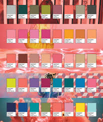 Adobe Pantone Color Chart Pantone Color Of The Year 2019 Color Palettes Featuring
