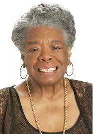 Maya Angelou - astonishing presenter!