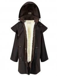 Driza Bone Wax Short Coat Brown