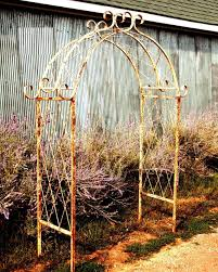 Small Picture garden decor Metal Garden Trellis Build a Cheap Metal Garden