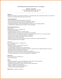 Nursing Assistant Resume Sop Proposal