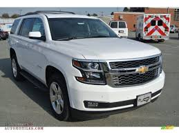 2015 Chevrolet Tahoe LT 4WD in Summit White - 301758 | All ...