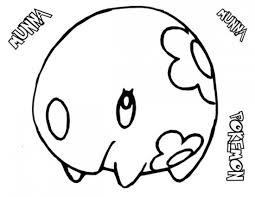 Small Picture Pokemon Munna Coloring Pages Pokemon Coloring Pages Pinterest