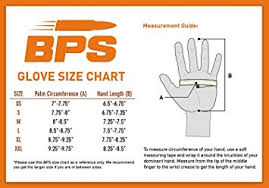 Dive Glove Size Chart Bps 3mm 5mm Double Lined Neoprene Wetsuit Gloves For