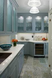 Natural Stone Kitchen Floor Image The Possibilities In This Beautiful Blue Kitchen With
