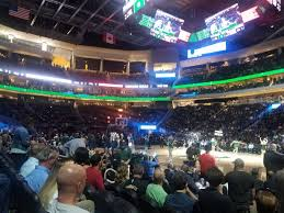 Milwaukee Bucks Detailed Seating Chart Milwaukee Bucks Seating Guide Fiserv Forum Rateyourseats Com