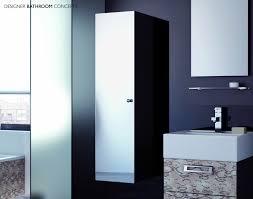 Aluminium Bathroom Cabinets Tallboy Bathroom Cabinet With Mirror